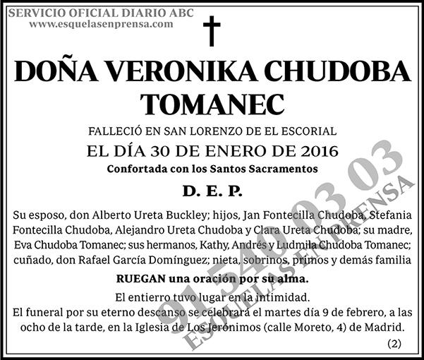 Veronika Chudoba Tomanec